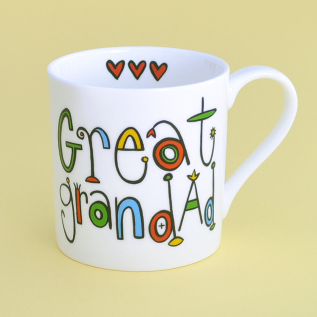 Personalised Great Grandad Mug