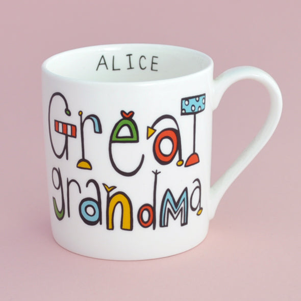 Personalised Great Grandma Mug