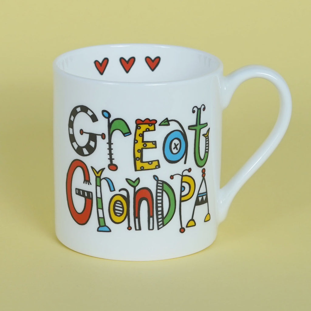 Personalised Great Grandpa Mug
