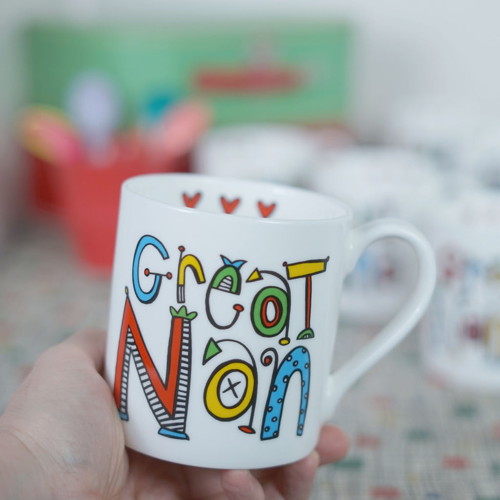 Personalised Great Nan Mug