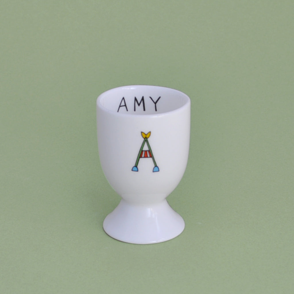 Personalised Name Eggcup