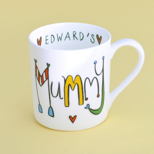 20% Off for Mothers Day Personalised Mummy Mug