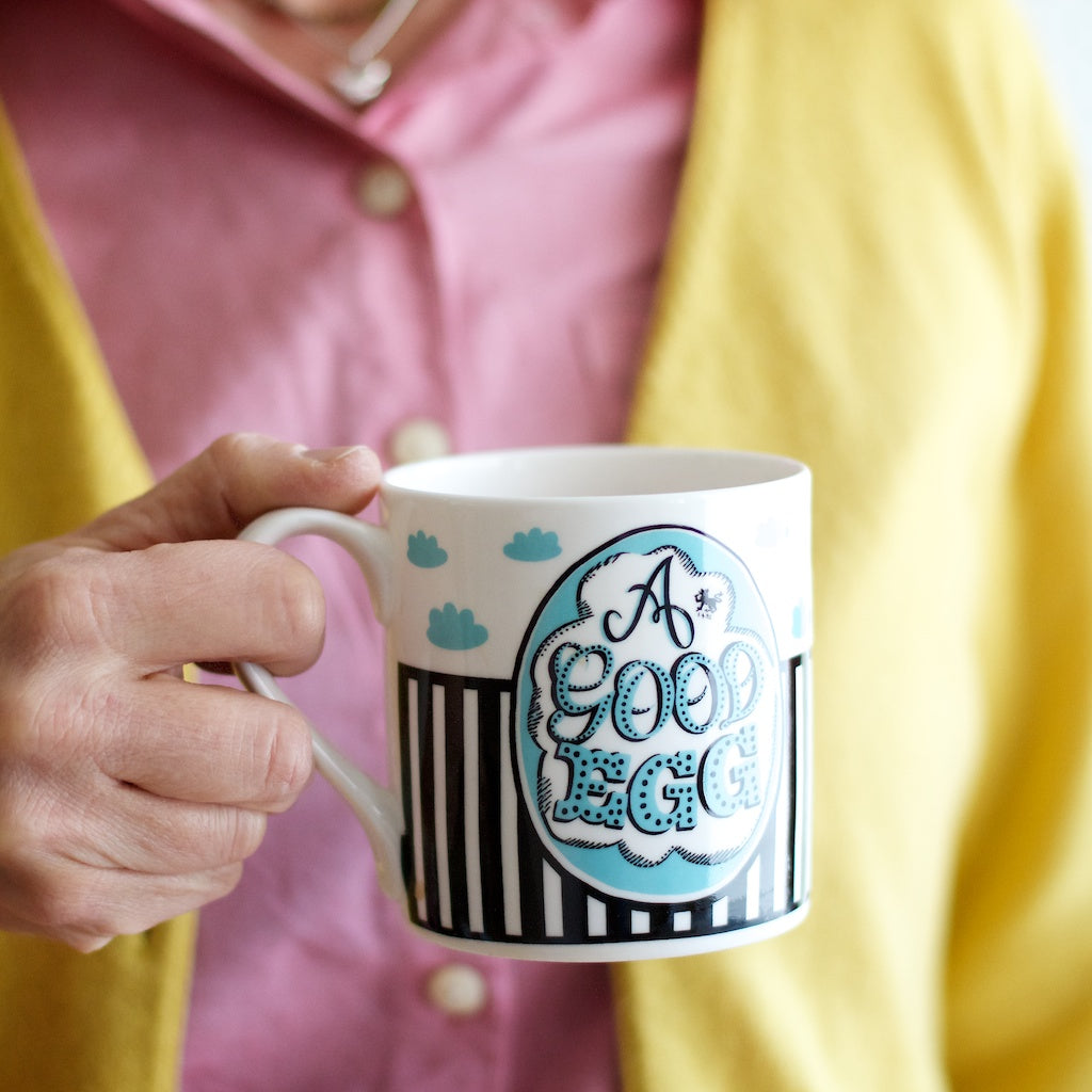 Good Egg Mug & Teatowel