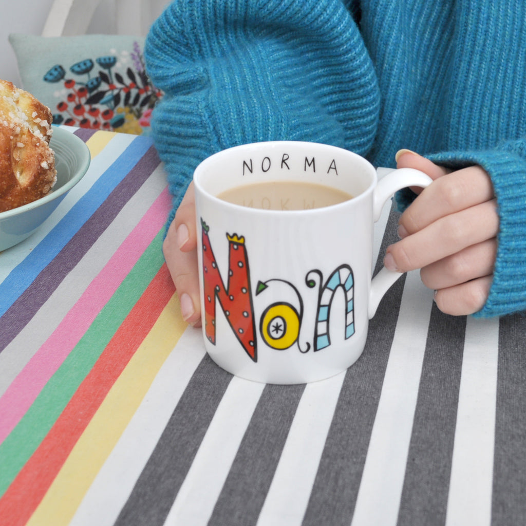 Personalised Nan Mug