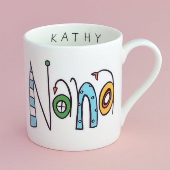 Personalised Nana Mug