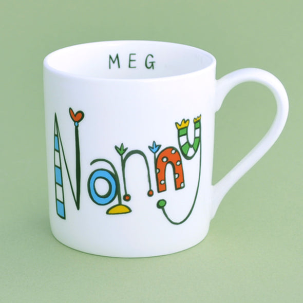 Personalised Nanny Mug