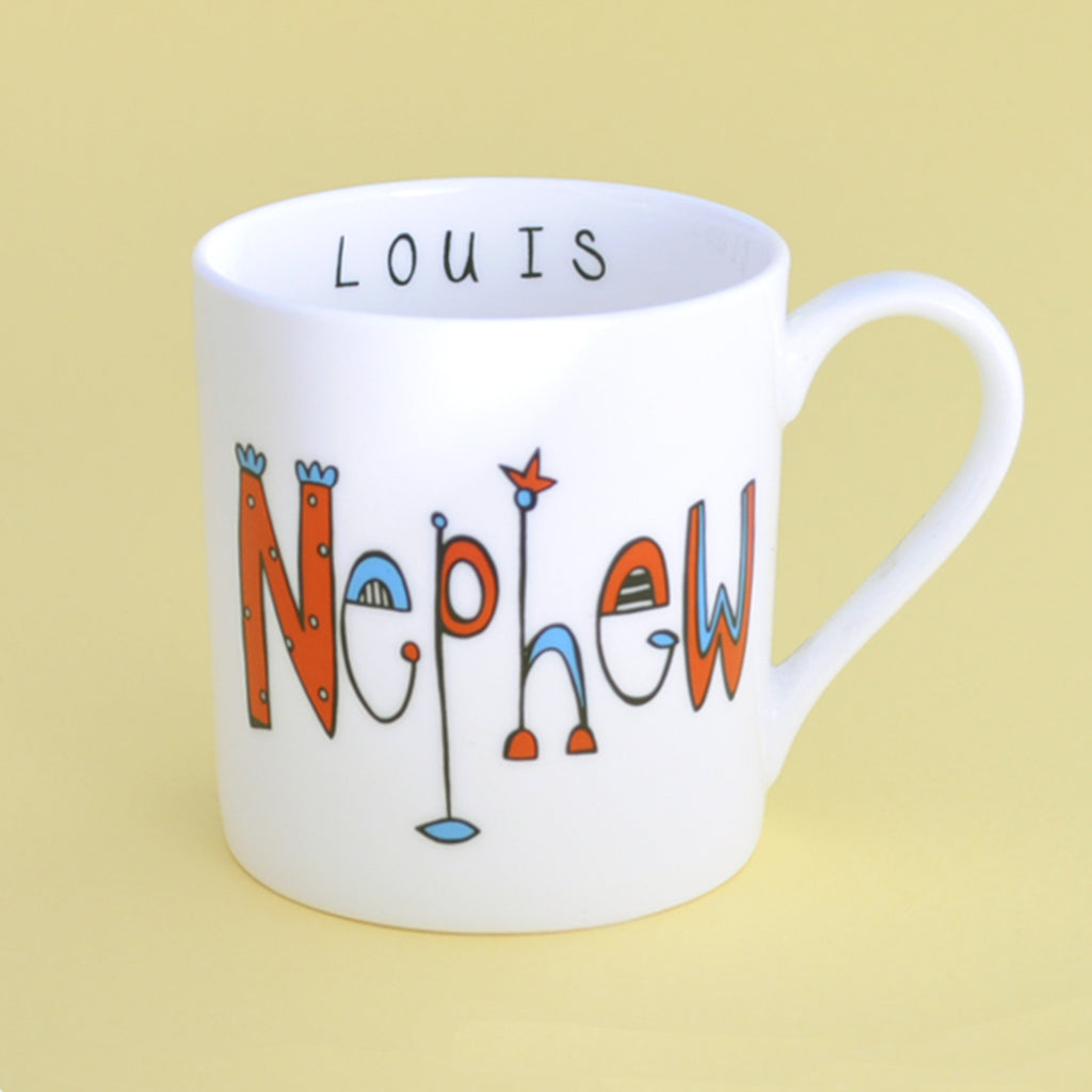 Personalised Nephew Mug