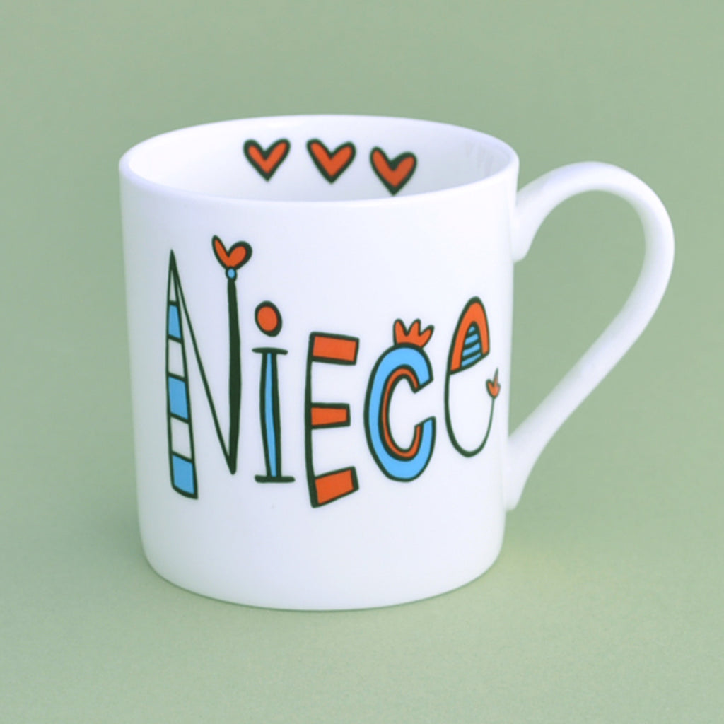 Personalised Niece Mug