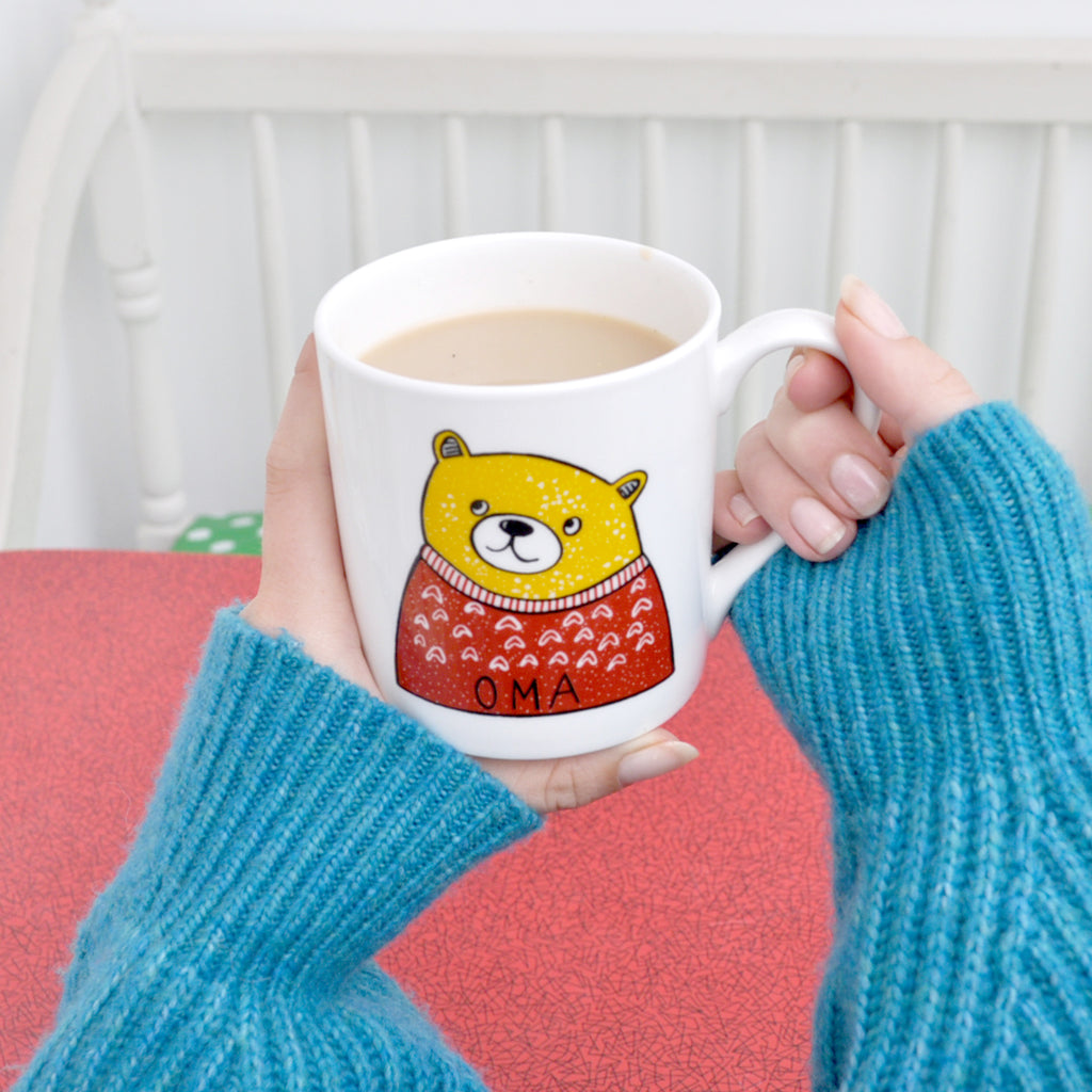 20% Off for Mothers Day Oma Bear Mug