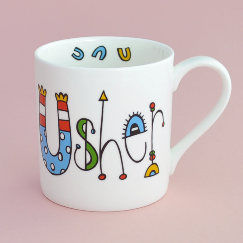 Usher Wedding Mug