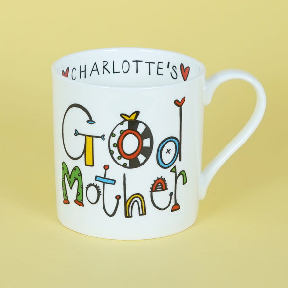 Personalised Godmother Mug