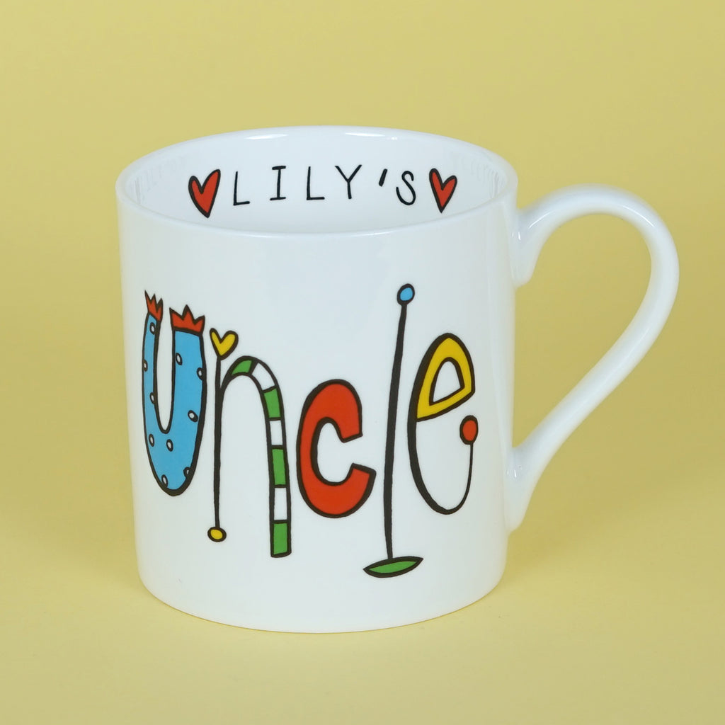 Personalised Uncle Mug