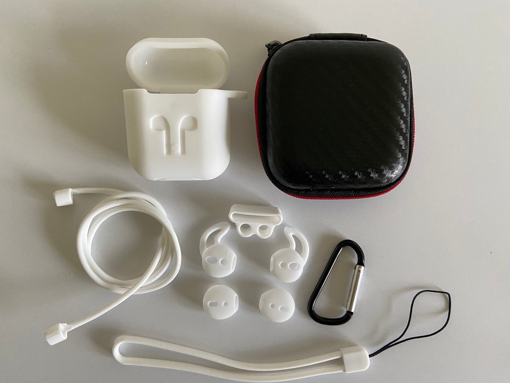 oopods airpods case hoesje cover wit white