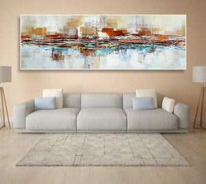 Tela em Canvas Abstract Oil Painting