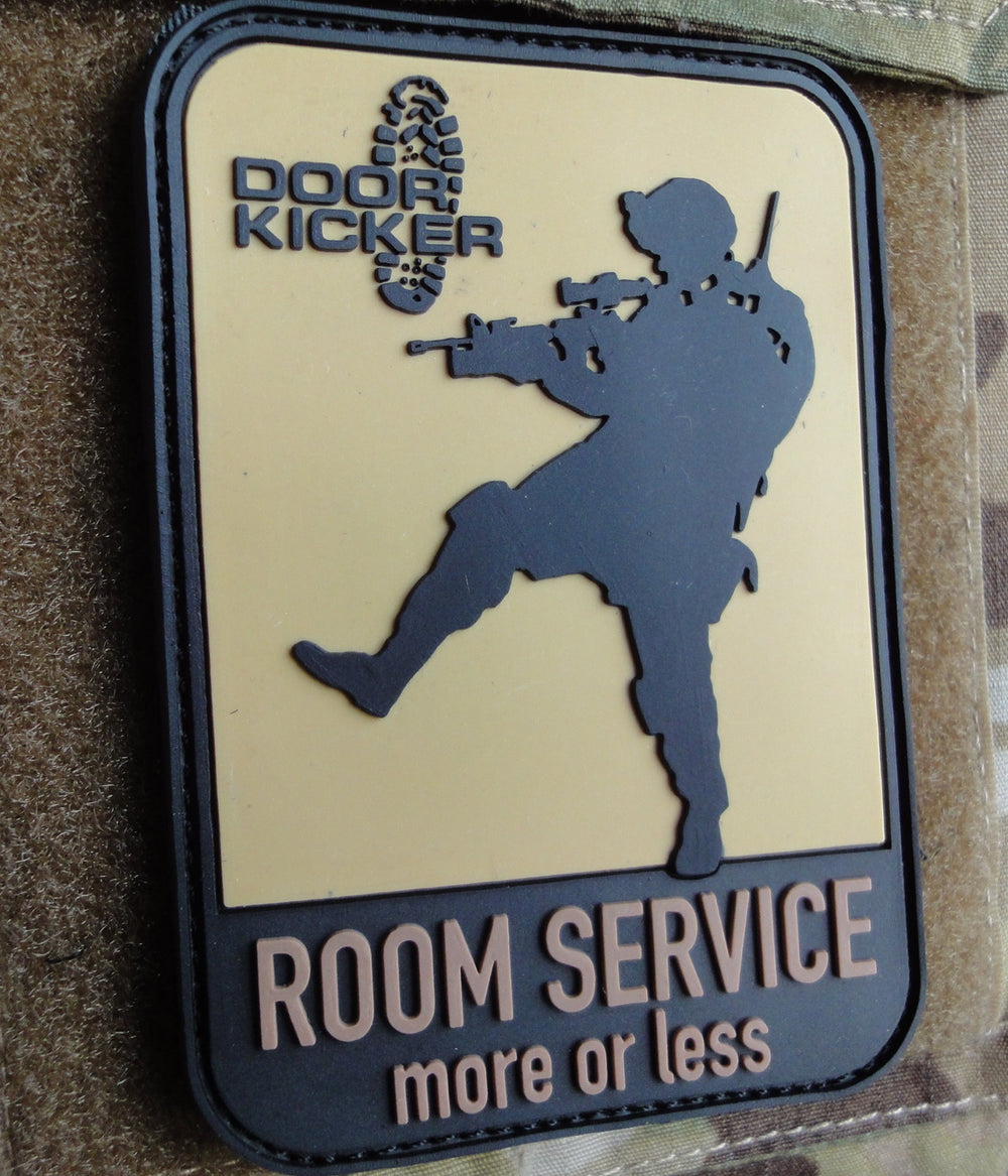 "Patch ""ROOM SERVICE more or less"""