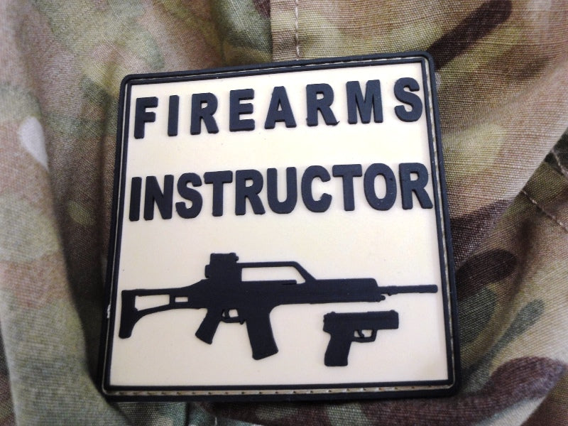 "Patch ""Firearms Instructor"""