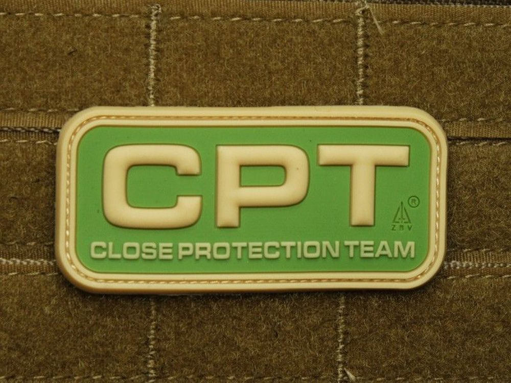 CPT Close Protection Team Patch