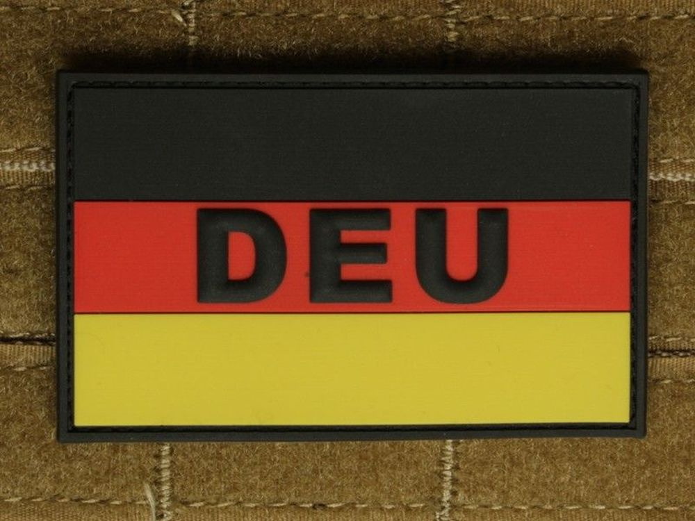 "Patch ""Deutschland Flagge"""