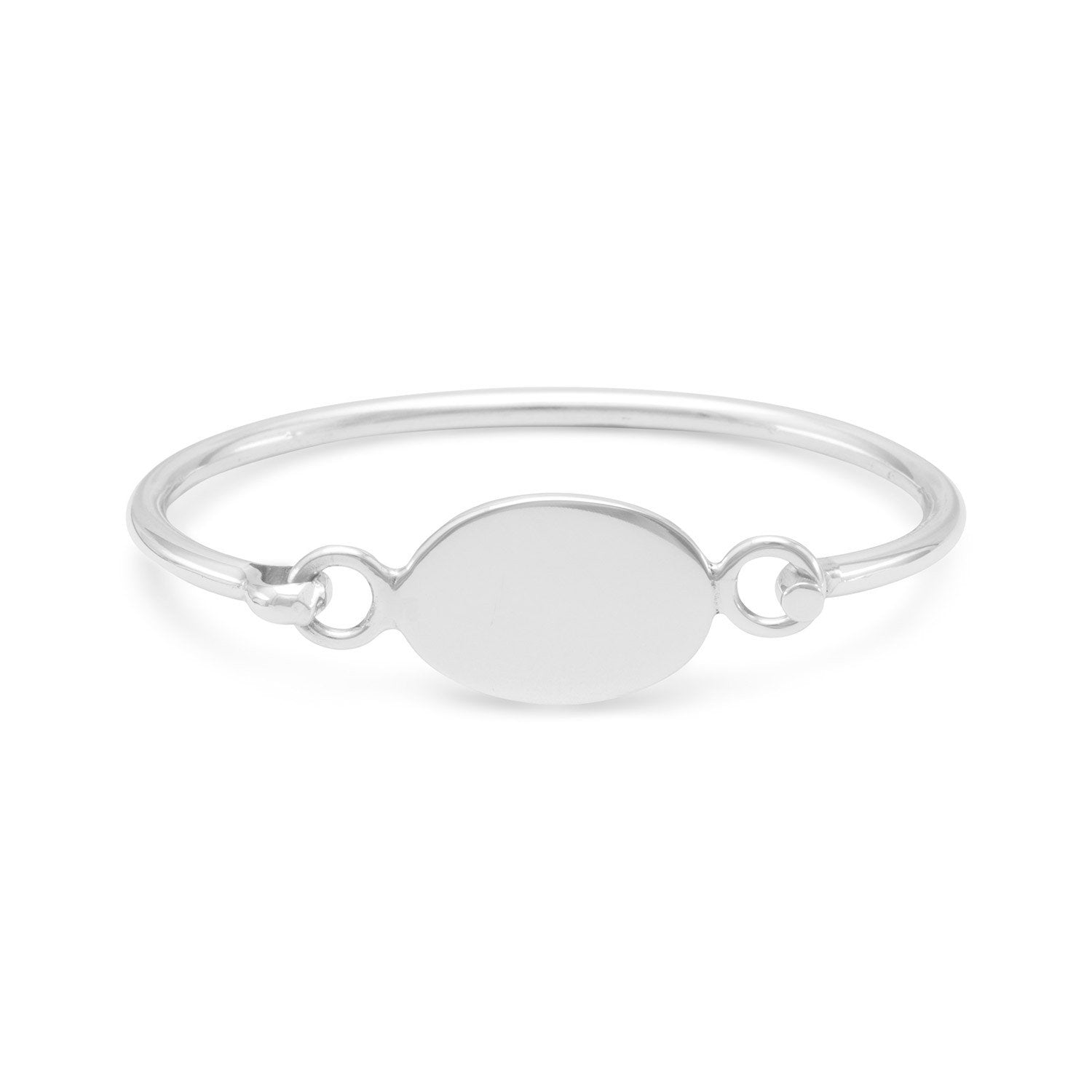 whitesilver bracelet bangles lyst adina metallic diamond in pave pav oval silver reyter sterling jewelry bangle