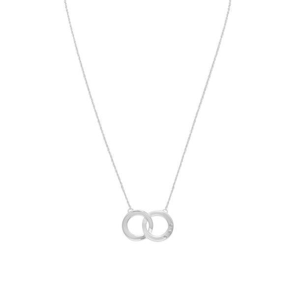Circle of Life Necklace with Diamonds