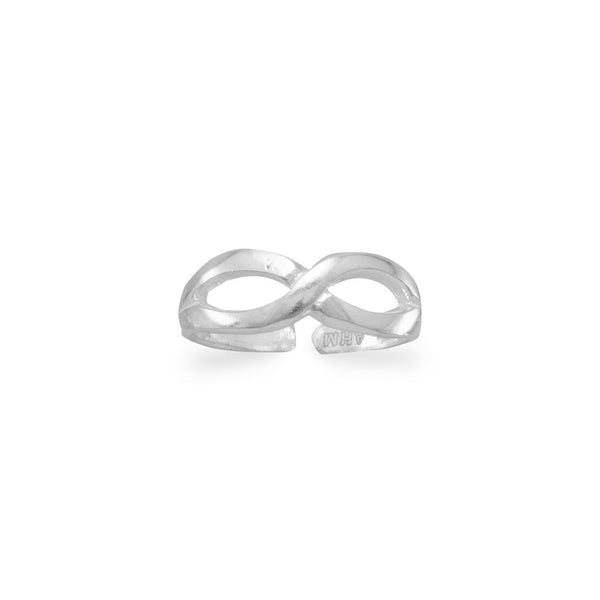 Infinity Design Toe Ring