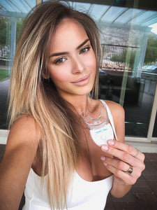 Monika Ordowska uses Crystal Clear teeth whitening to whiten her teeth