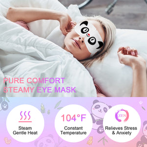 Soti Steam Eye Masks - 10 Pack