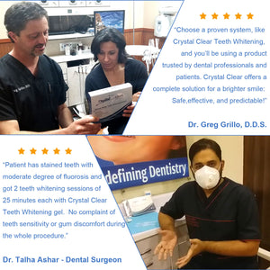 Crystal Clear Teeth Whitening™ At-Home Teeth Whitening All-in-One Kit
