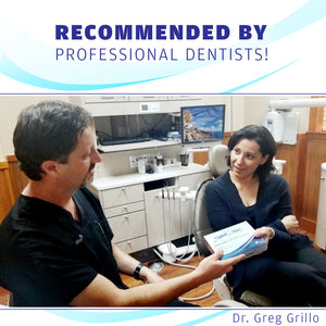 dentists recommending teeth whitening kit