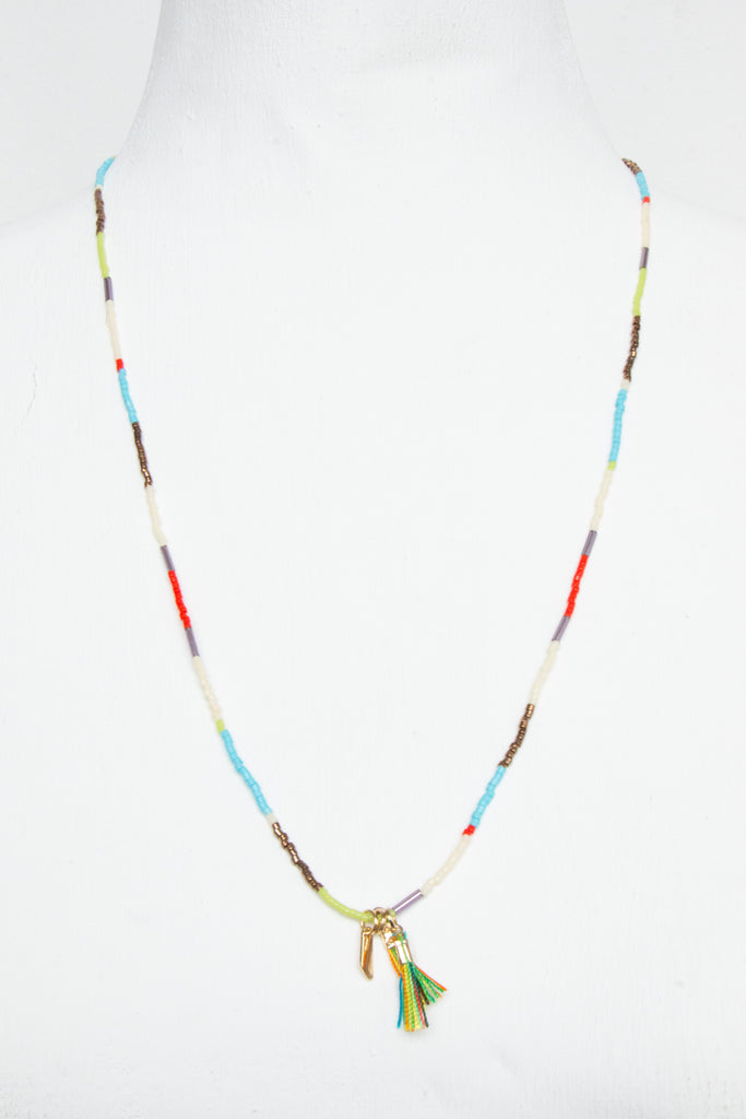 Fine Multibead Necklace - desray.co.za