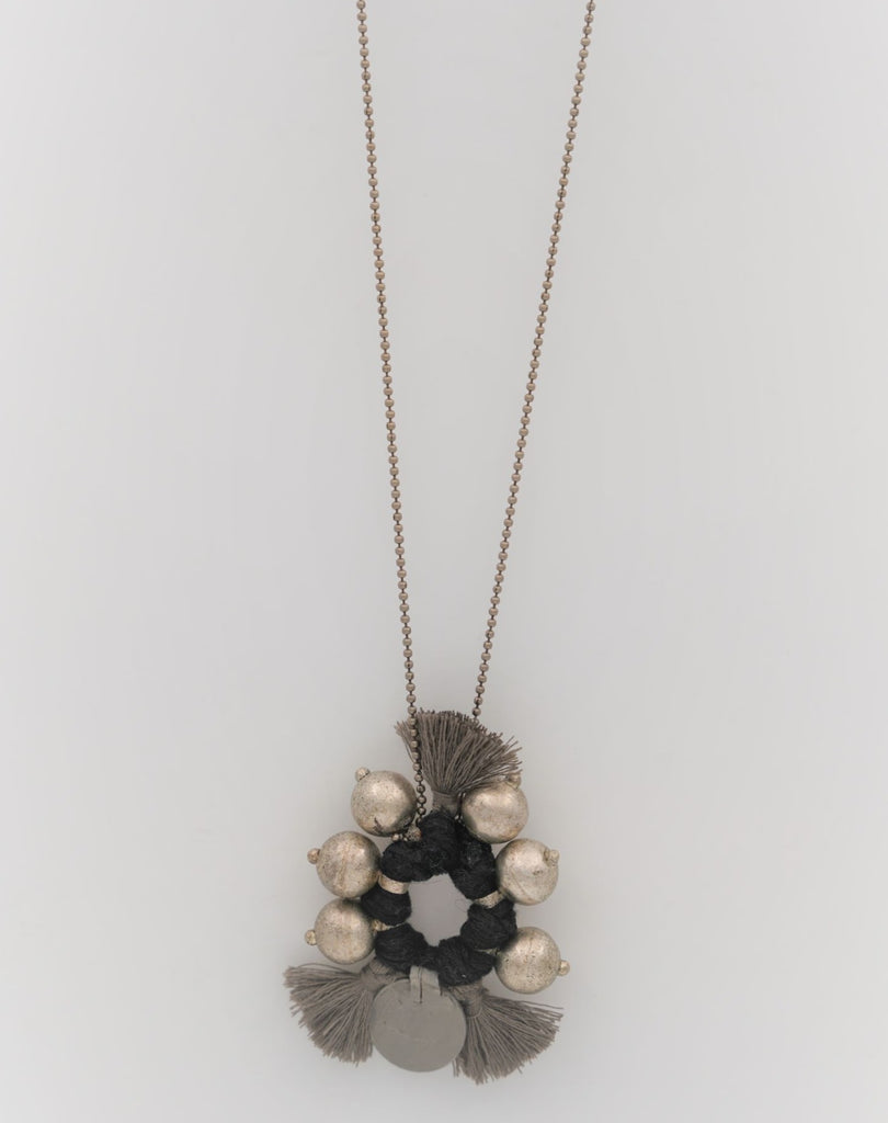 Taupe Boho Necklace - desray.co.za