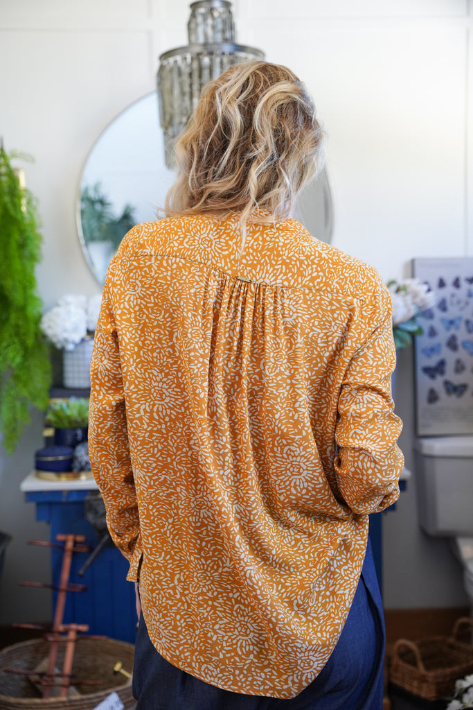 Mustard Alex Shirt - desray.co.za