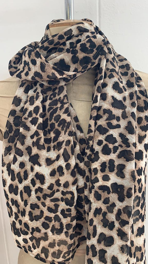 Animal Print Head Scarf - desray.co.za