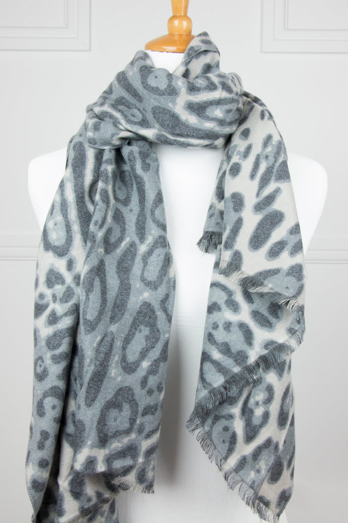 Animal Prt Cashmere Touch Scarf - desray.co.za