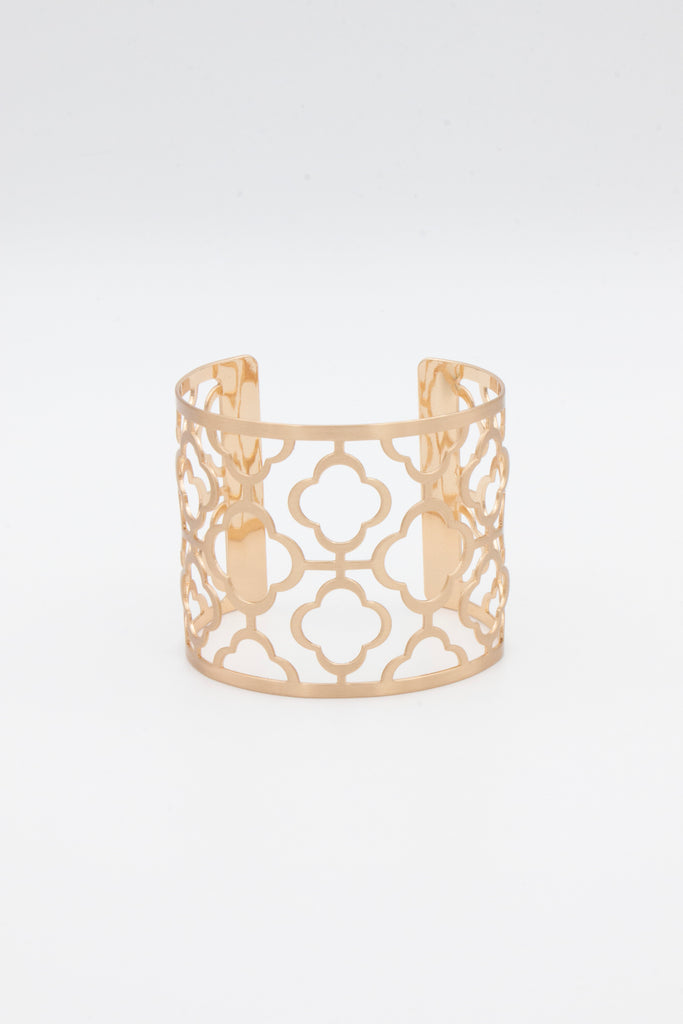 Gold Laser Cuff - desray.co.za