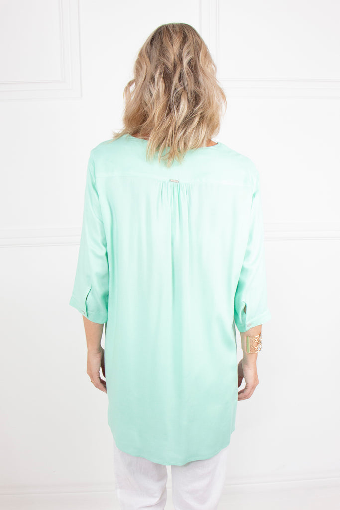 Mint Kaftan Shirt - desray.co.za