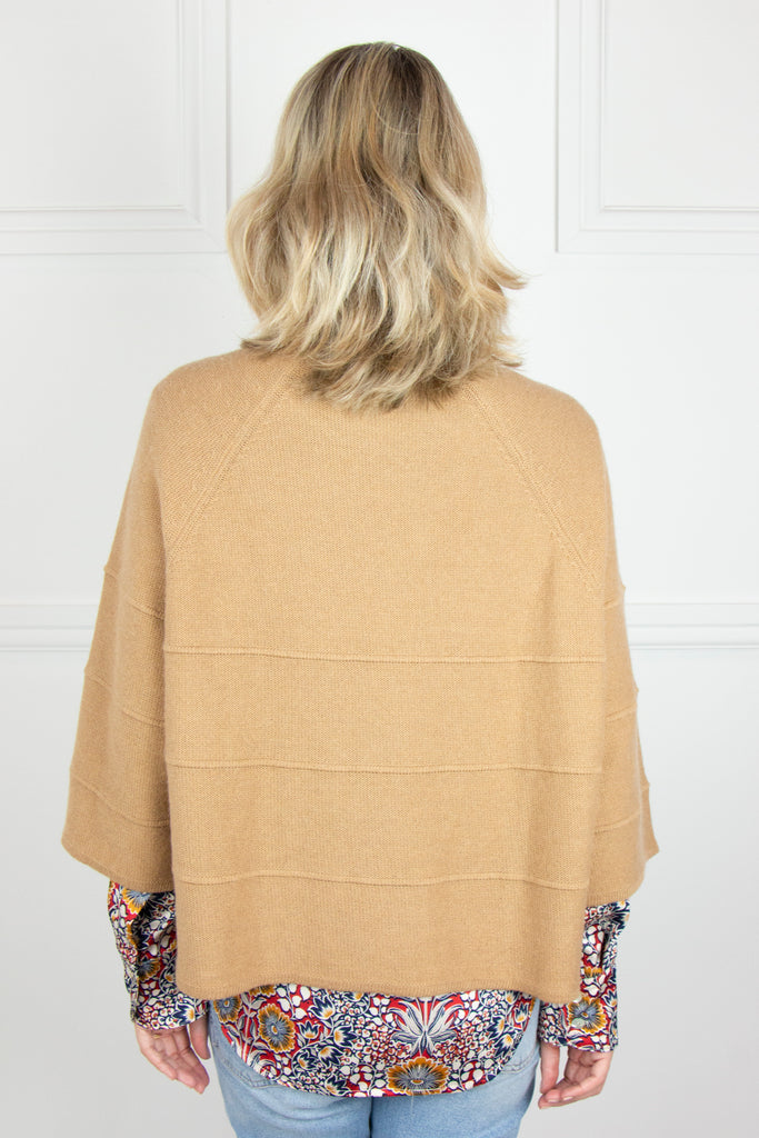 Tan Cropped Pullover - desray.co.za