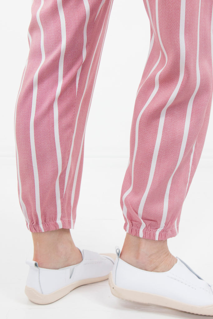 Red Stripe Boho Pants - desray.co.za