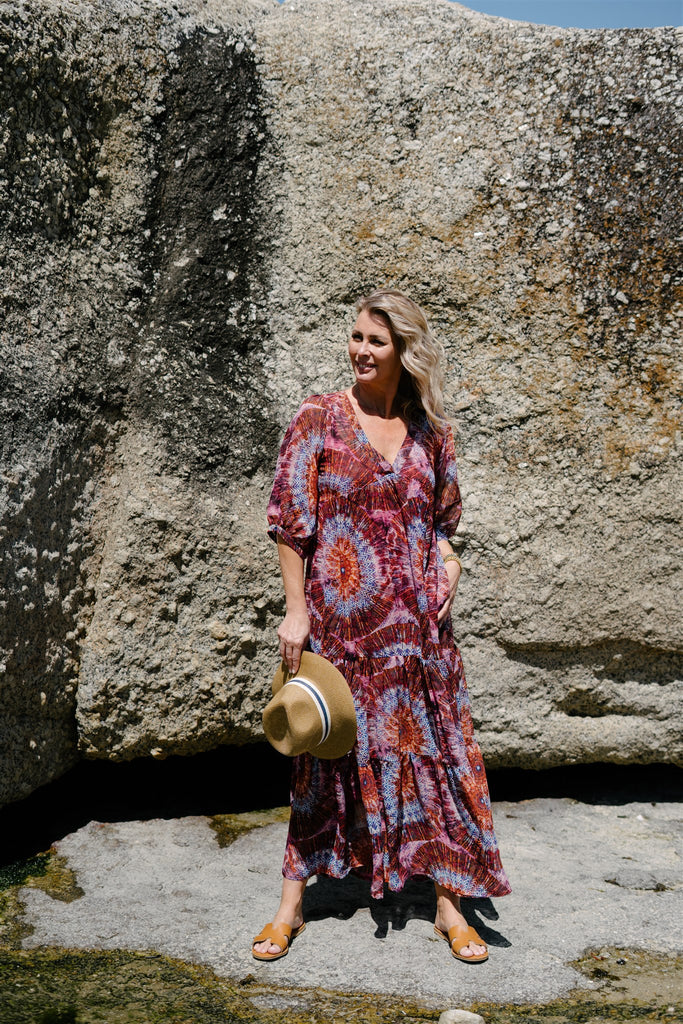 Tie Dye Maxi Dress - desray.co.za