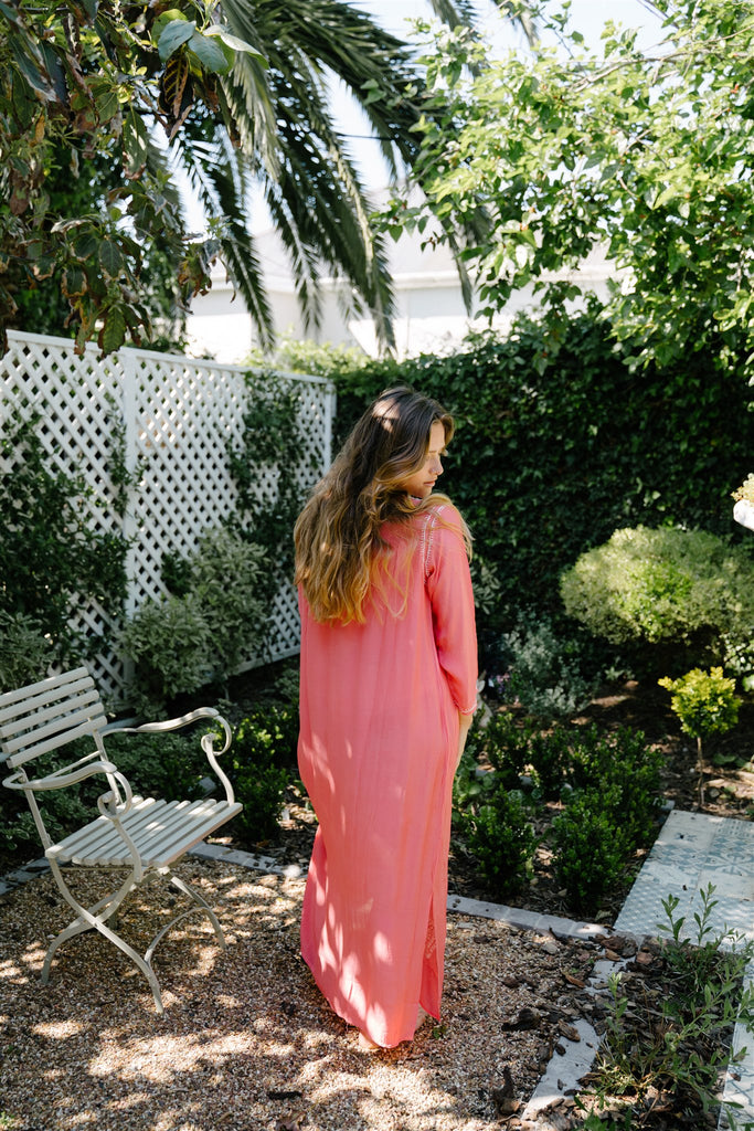 Watermelon Long  Kaftan