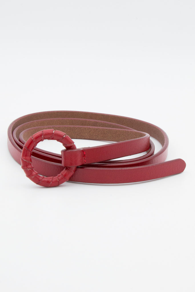Red Loop Kaftan Belt - desray.co.za