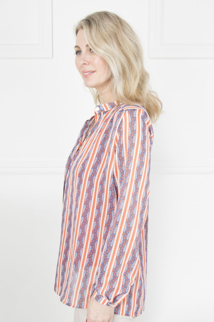 Stripe Alex Shirt - desray.co.za