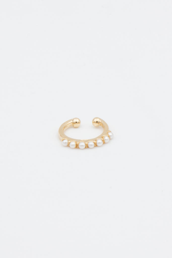 Gold Pearl Ear Cuff - desray.co.za