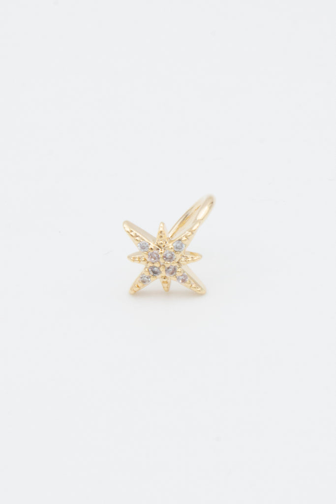 Gold Star Ear Cuff - desray.co.za