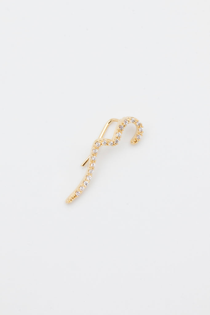 Gold Snake Ear Cuff - desray.co.za