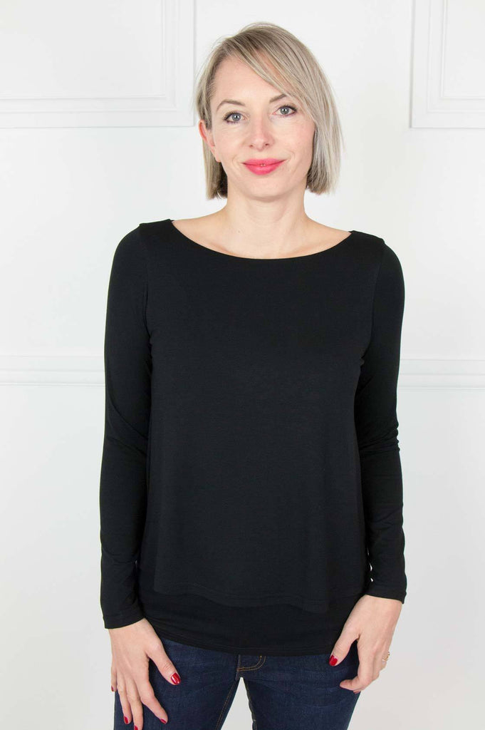 Black Layered Top - desray.co.za