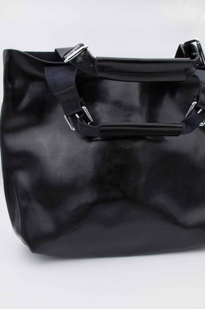 Black Leather Core Bag - desray.co.za