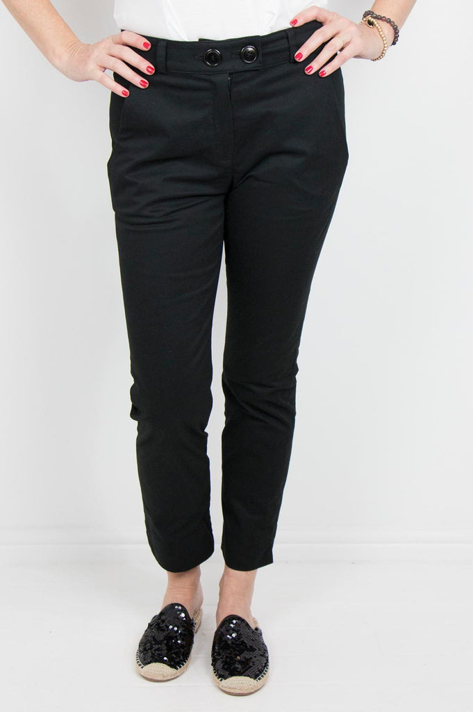 Black Verna Pants - desray.co.za