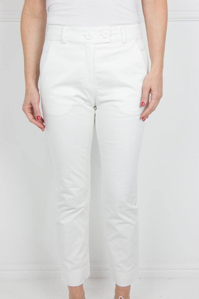 Cream Verna Pants - desray.co.za