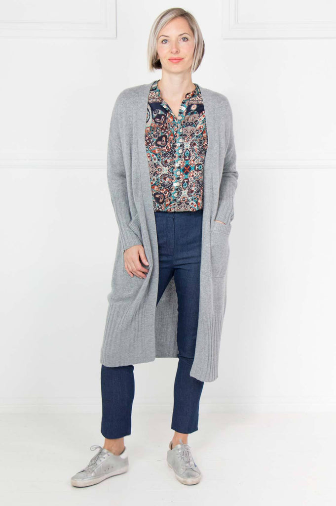Grey Cardi Coat - desray.co.za